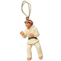 Christmas Ornament Figurine - Judo