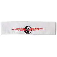 Yin and Yang Flame Headband