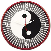 Yin & Yang Martial Arts Clock