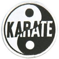 Yin & Yang Patches - Karate - 3-1/2