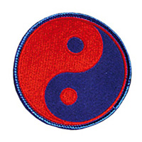 Yin & Yang - Red and Blue Patch - 4