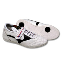 Pine Tree Children's Martial Arts Shoes - White and Black