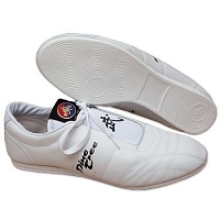 Pine Tree Low Cut Martial Arts Shoes - White / Black