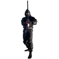 Tiger Claw Ninja Black Wooden Sword