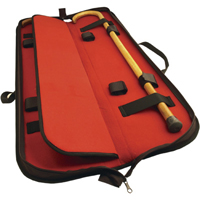 Tiger Claw Deluxe Black Cane Case