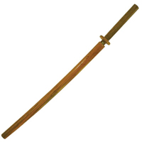 Tiger Claw Red Oak Bokken and Wood Scabbard