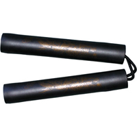Tiger Claw Black Foam Nunchuck - 8