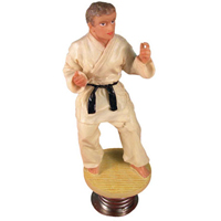 Tiger Claw Judo Dashboard Figure