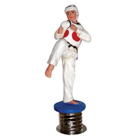 Tiger Claw Tae Kwon Do Dashboard Figure