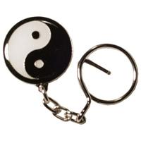 Tiger Claw Yin Yang Keychain