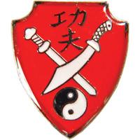 Tiger Claw Kung Fu Shield Pin