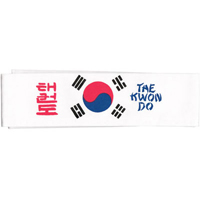 Tiger Claw Korean Flag Taekwondo Headband