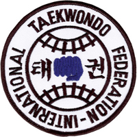 Tiger Claw International Taekwondo Federation Patch - 4
