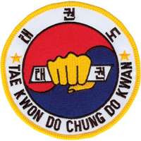 Tiger Claw Taekwondo Chung Do Kwan Patch - 4