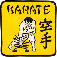 Tiger Claw Karate Tile Breaker Patch - 5