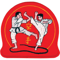 Tiger Claw Kumite Patch - 4