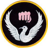 Tiger Claw Karate Dove Patch - 3 1/2
