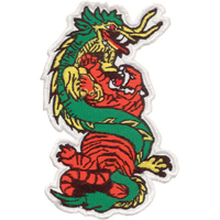 Tiger Claw Tiger and Dragon Patch - 5.5
