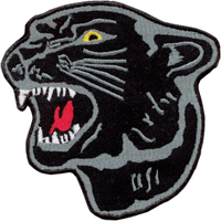 Tiger Claw Black Panther Patch - 4