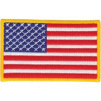 Tiger Claw U.S. Flag Patch - 3 1/2