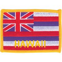 Tiger Claw Hawaiian Flag Patch - 3 1/2