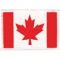 Tiger Claw Canadian Flag Patch - 3 1/4