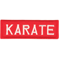 Tiger Claw Karate Rectangular Patch - 3