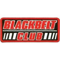 Tiger Claw Blackbelt Club Rectangular Patch - 4