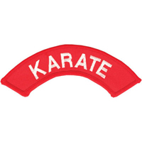 Tiger Claw Karate Dome Patch - 5