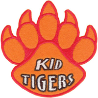 Tiger Claw Kid Tigers Paw Print Patch - 3