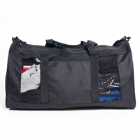 Tiger Claw Black Gear Bag with Mesh Sides