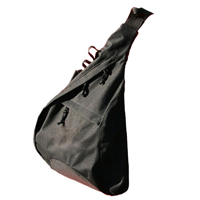 Tiger Claw Black Sling Bag