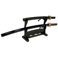Tiger Claw Double Sword Stand