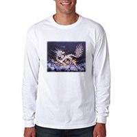 Tiger Claw Dragon Long Sleeve T-Shirt