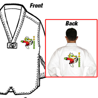 Tiger Claw Essential Taekwondo V-Neck Uniform - Kid Dragon