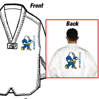 Tiger Claw Essential Taekwondo V-Neck Uniform - Kid Eagle