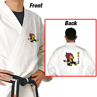 Tiger Claw Essential Taekwondo V-Neck Uniform - Kid Lion