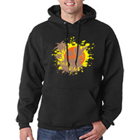 Tiger Claw Fun in the Sun Hooded Sweatshirt