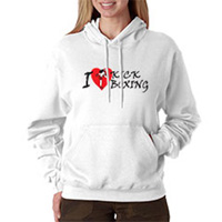 Tiger Claw I Love Kick Boxing Hooded Sweatshirt