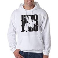 Tiger Claw Judo Silhouette Hooded Sweatshirt - Black Logo