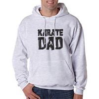 Tiger Claw Karate Dad Hooded Sweatshirt - Black Logo