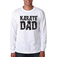 Tiger Claw Karate Dad Long Sleeve T-Shirt - Black Logo