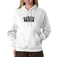 Tiger Claw Karate Mom Hooded Sweatshirt - Black Logo