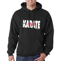 Tiger Claw Karate Hooded Sweatshirt - White Logo