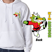 Tiger Claw Kid Dragon Hooded Sweatshirt