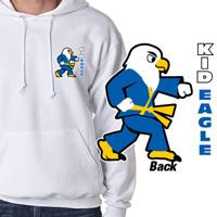 Tiger Claw Kid Eagle Hooded Sweatshirt