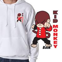 Tiger Claw Kid Monkey Hooded Sweatshirt