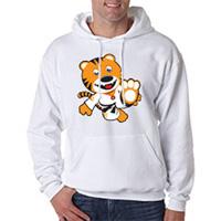 Tiger Claw Kid Tiger Hooded Sweatshirt