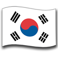 Tiger Claw Korean Flag