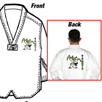 Tiger Claw Lightweight Poly/Cotton Taekwondo V-Neck Uniform - Kid Mantis